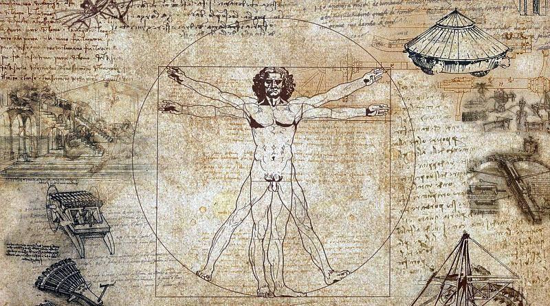 Leonardo da Vinci - génio universal do Renascimento | Homem vitruviano