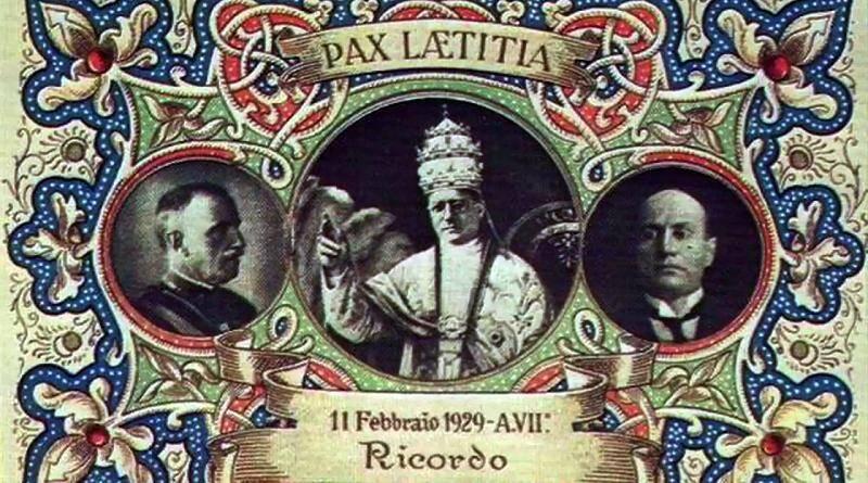 Tratado de Latrão criou o Estado do Vaticano – 11.02.1929