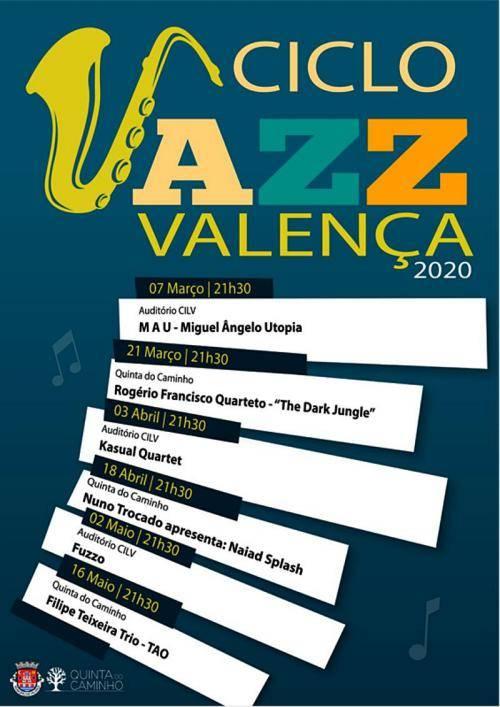 Programa do Ciclo de Jazz em Valença - 2020