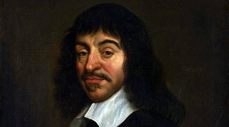 René Descartes, filósofo francês autor do cartesianismo. Cogito ergo sum - Penso, logo existo.