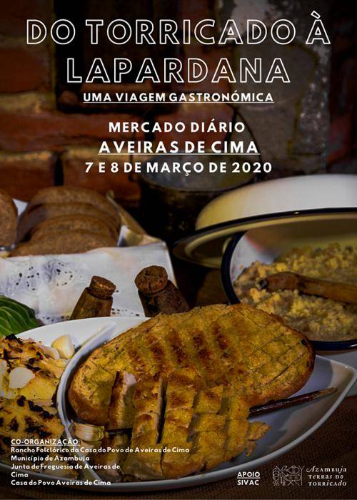 Do Torricado à Lapardana, uma viagem gastronómica