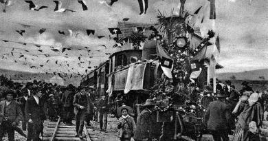 A abertura do caminho de ferro na região do Douro