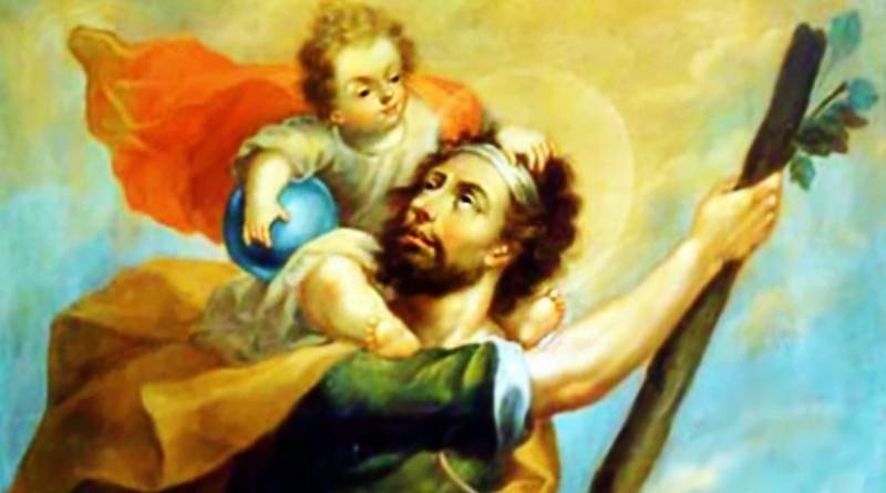 """A vida de São Cristóvão - o que """"leva Cristo"""""""