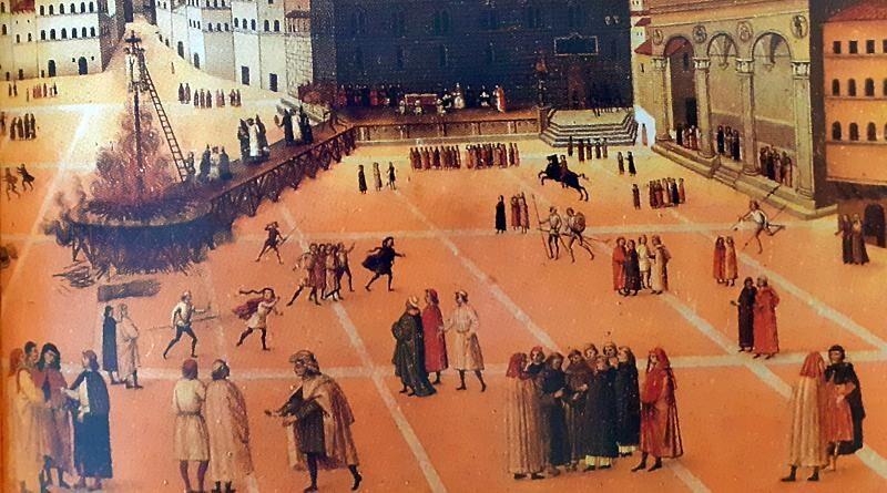 23.05.1498 - Girolamo Savonarola é executado em Florença
