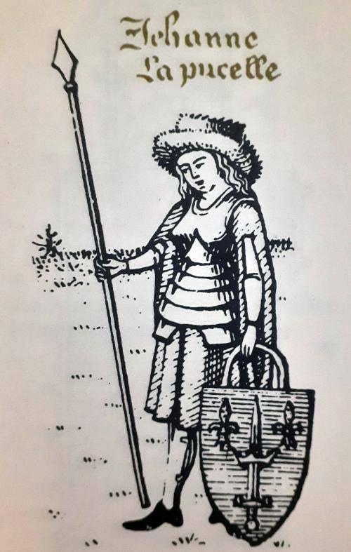 Joana d'Arc morreu a 30 de Maio de 1431, na fogueira