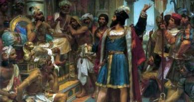 Chegada de Vasco da Gama a Calecut - Índia