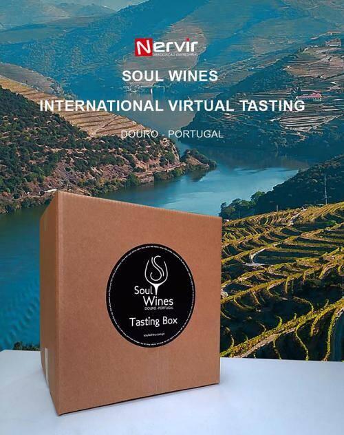 Tasting boxes com Vinhos Douro e Porto enviadas para diversos importadores