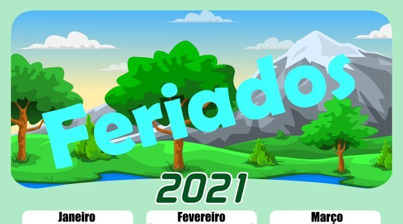 Feriados em Portugal durante o ano de 2021