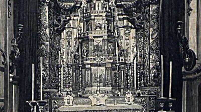 Altar de Prata - Sé do Porto - Norte de Portugal