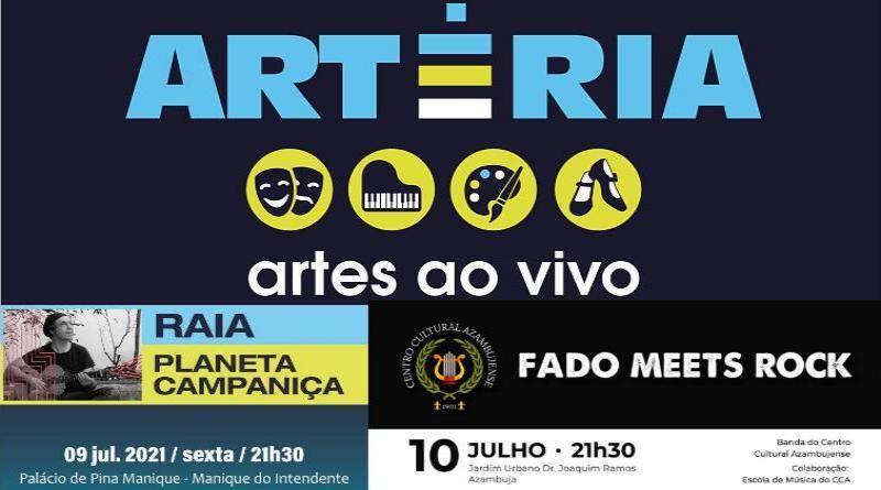 """Programa de Artes ao Vivo """"Artéria"""" - Azambuja"""