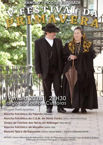 Festival da Primavera - Custóias
