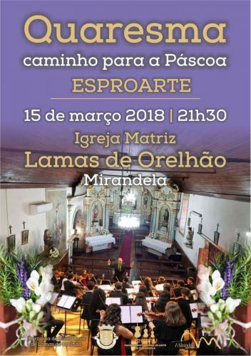Quaresma caminho para a Páscoa em Lamas de Orelhão